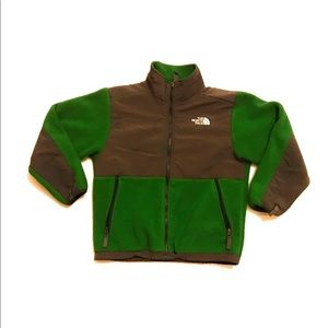 The North Face Denali Polartec Fleece Jacket Green